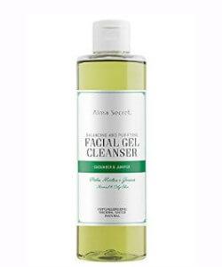 gel limpiador facial alma secret
