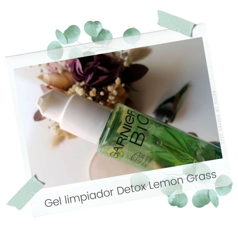 Gel limpiador Detox Lemon Grass de Garnier