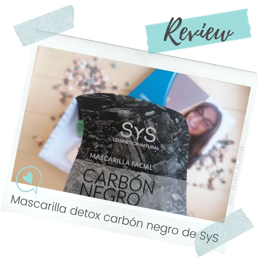 Mascarilla detox carbón negro de SyS