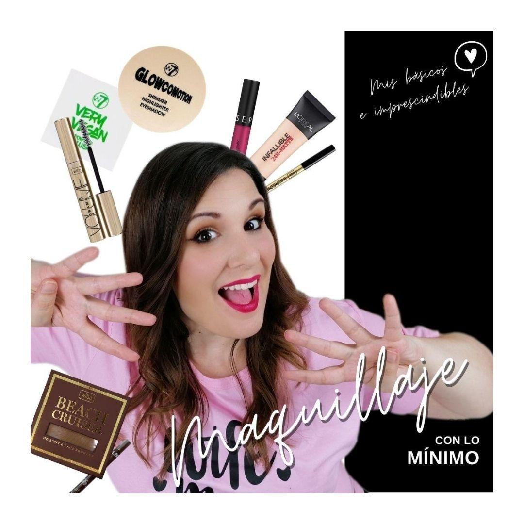 Maquillaje con pocos productos: fácil, rápido y low cost