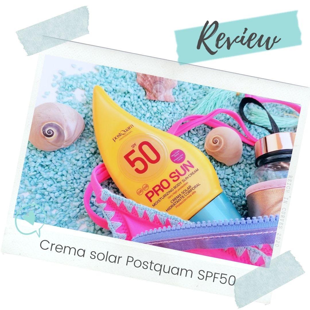 Crema solar Postquam SPF50